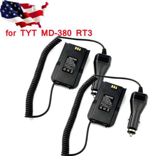 2pcs car charger battery eliminator for rt3