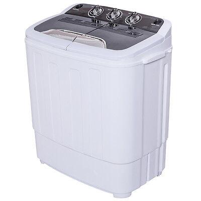 Epigrammatic Mini Twin Tub 13lbs Washing Machine Washer Spin Dryer
