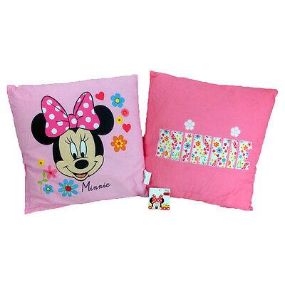 Disney Minnie Mouse Liberty Kissen Kuschelkissen Dekokissen Sofakissen 40 x 40cm