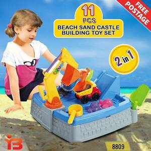 11 pcs 2-in-1 Outdoor Castle Sand & Water Play Table for Children Fairfield Fairfield Area Preview