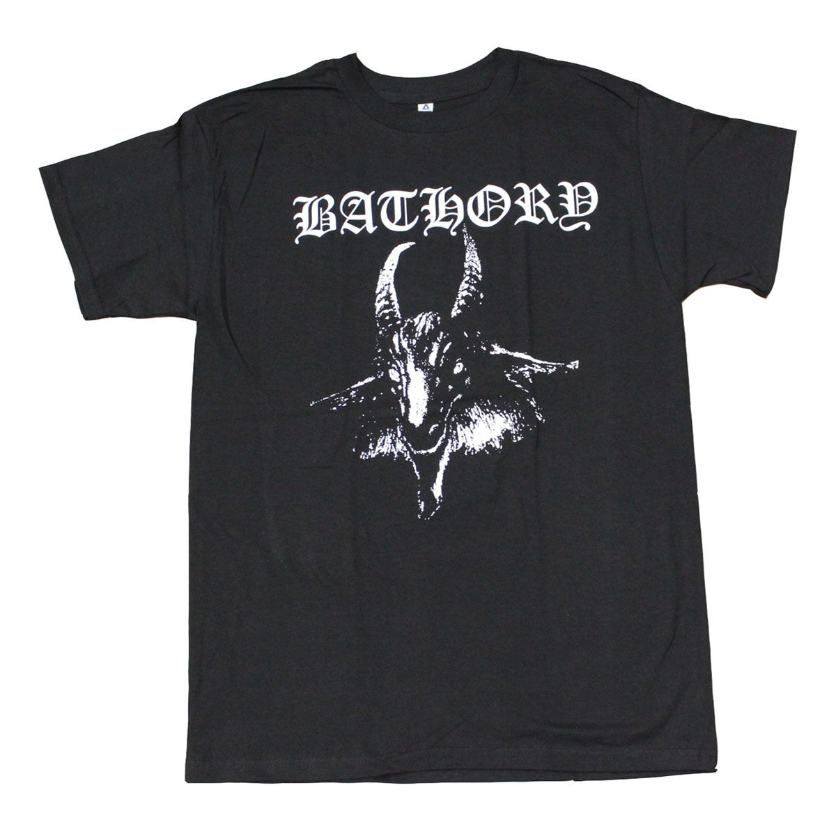 Bathory Goat Black Metal Band Men's T-Shirt Black