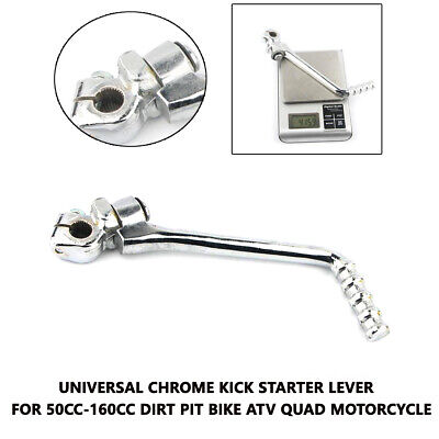 1X Universal Kick Starter Lever for 50cc-160cc dirt pit bike ATV Quad Motorcycle