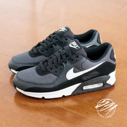 Nike Air Max 90 Iron Grey White Smoke Grey Running Shoe Men CN8490-002