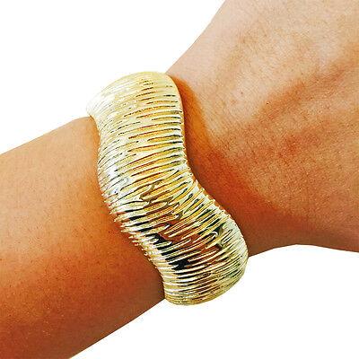 VALERIA Gold Bracelet Securely Hides Fitbit Flex/Flex 2!  50% Off SALE!