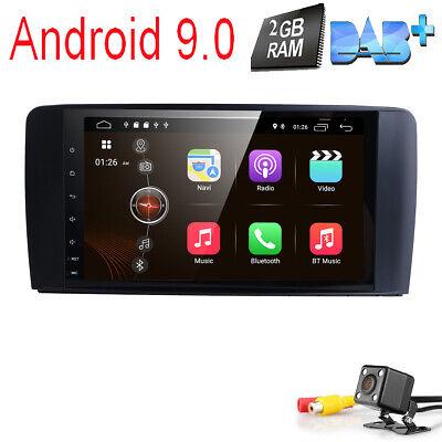 "9"" Mercedes Benz ML/GL Klasse W164 X164 Android 8.1 DAB+ GPS DVB-T2 4G Autoradio"