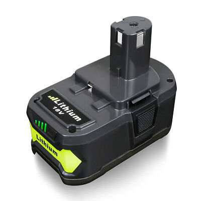 New  For P108 Ryobi 18 Volt 18V One Plus Lithium Ion High Capacity Battery 4 0Ah