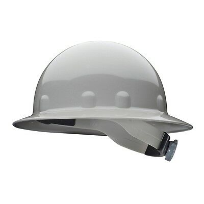 Fibre-metal Full Brim Hard Hat With 8 Point Ratchet Suspension Gray
