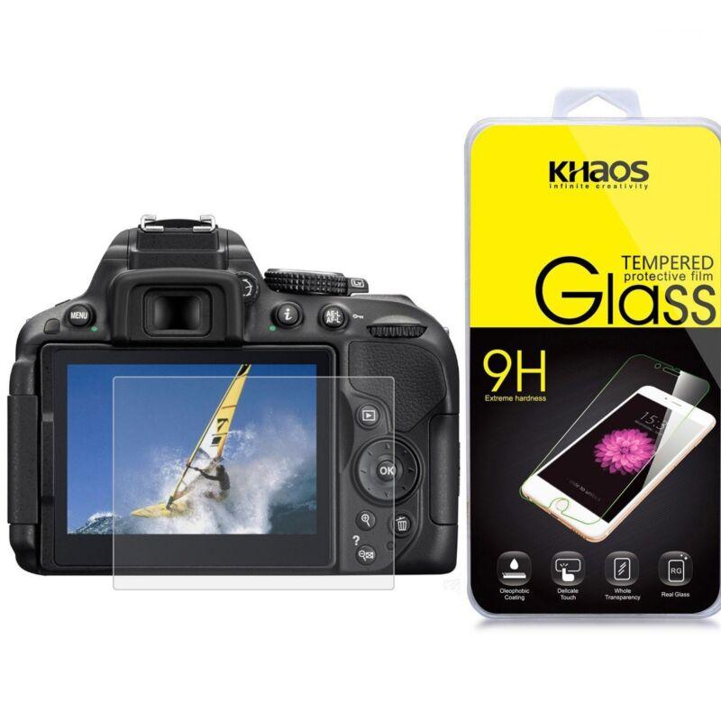 KHAOS Ballistic Glass Screen Protector For Nikon D5300 D5500 D5600