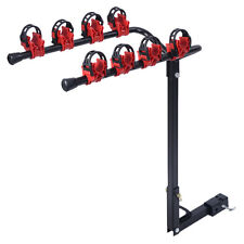 New 4 Bicycle Bike Rack 1-1/4&2 Hitch Mount Carrier Car Truck AUTO SUV Swing