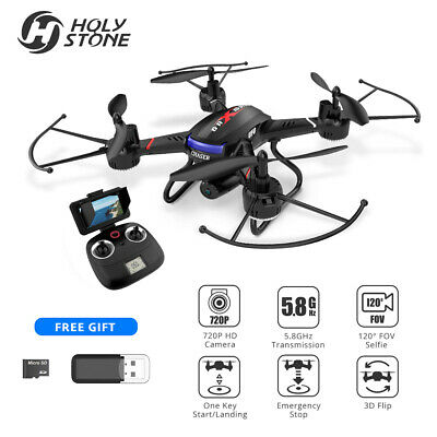 HolyStone F181G 5.8G LCD Examine FPV Drone With 720P HD Camera 2.4G RC Quadcopter