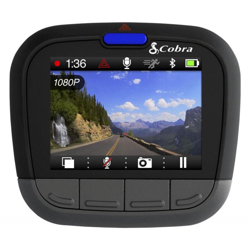 Cobra CDR 855 1080P Dash Cam w/ Bluetooth Smart Enabled GPS & IRadar Alerts