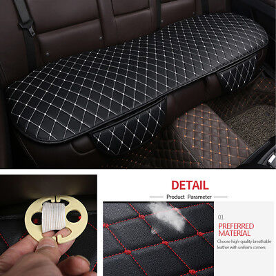 1PCS Rear Seats Cushion Pad PU Leather SUV Car Seat Cover Cushion Protectors Pad