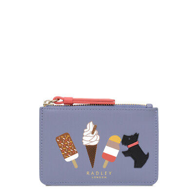 Radley London Lollies Small Zip-Top Coin Purse NEW More Colours Available Blu...