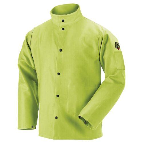 Revco Black Stallion 9oz Lime FR Cotton Welding Jacket (X-Large) (FL9-30C)