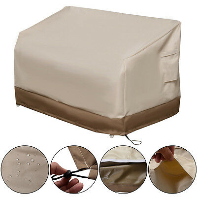 Waterproof Outdoor Patio Loveseat & Bench Cover Furniture Weather Protection