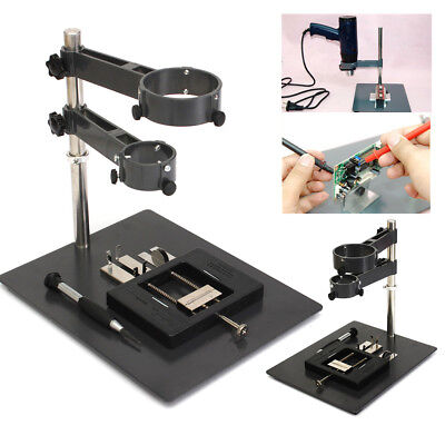 Soldering Fixtures Holder Desoldeing Station Heat Hot Air Gun Smd Rework Stand