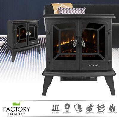 20 electric fireplace heater freestanding log wood