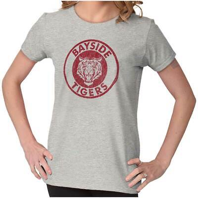Bayside Tigers Saved By The Bell 90s Funny Gift Cute Cool Gym Ladies Tee Shirt T