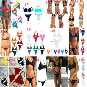 Conjunto-de-bikini-mujer-Banarse-traje-de-bano-Push-Up-Beach-Swimsuit