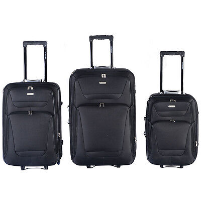 Купить GLOBALWAY - GLOBALWAY Expandable 3 PCs Luggage Travel Set Trolley Bag Suitcase 2 Wheels New