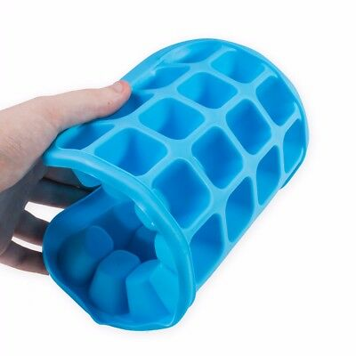 EXTRA LARGE 32 SLOT ICE CUBE TRAY - Flexible Silicone Jelly Mould Gelatin Mould