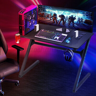 Computer Gaming Desk Pc Laptop Table Ergonomic Gamer E-sports Home Office Study