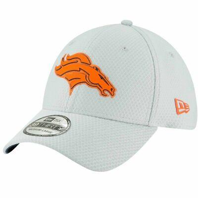 New Era Denver Broncos Grey NFL Training Camp Primary Football Hat Cap
