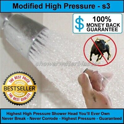 The Original High Pressure Shower Head swb-s3 Best Value Over 12.5gpm (Best Delta Shower Head)