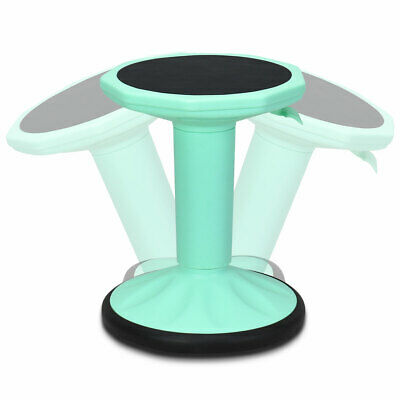 Wobble Chair Active Learning Stool Flexible Stool For School Office Mint Green