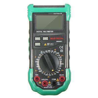 Mastech Ms8261 Digital Dmm Multimeter W Acdc Voltage Capacitance Measurement