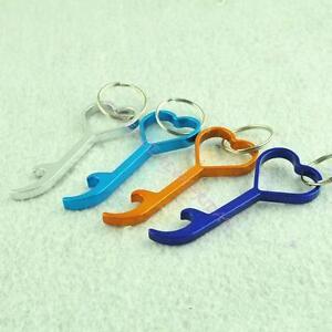 heart shaped key chain bottle opener keyring novelty keychain ring bar tool. Black Bedroom Furniture Sets. Home Design Ideas