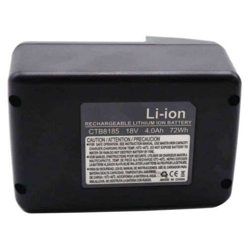 18V 4000mAh Battery for Snap on CT8850 CTB7185 CTB8185 CTB8187 CT7850 Charger