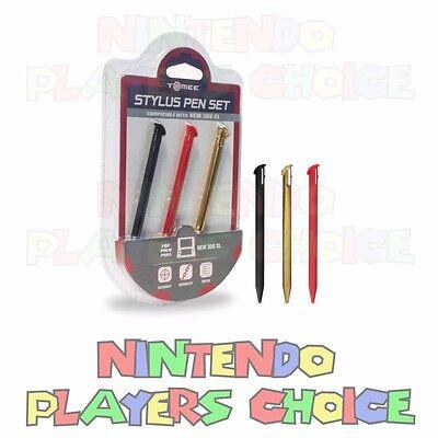 New Nintendo 3DS XL 3 Pack Stylus Pen Color Set - Styluses Pens