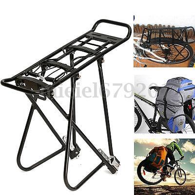 Alloy Cycling Bike MTB Rear Rack Seat Post Mount Pannier Luggage Carrier Bracket
