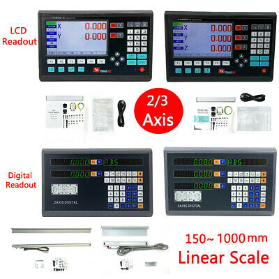 23 Axis Digital Readout For Lathe Or Milling Machine Dro Ttl Linear Glass Scale