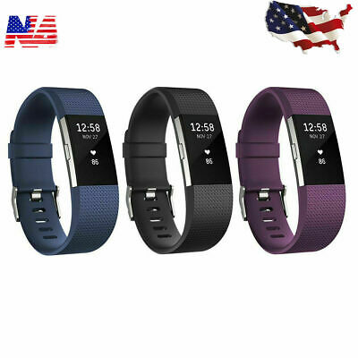 Fitbit Charge 2 HR Heart Rate Monitor Fitness Wristband Tracker - Size (S & L)