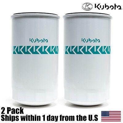 2 Genuine Oem Kubota Hydraulic Oil Filter Hhta0-37710 L And M Mx Series Tractors