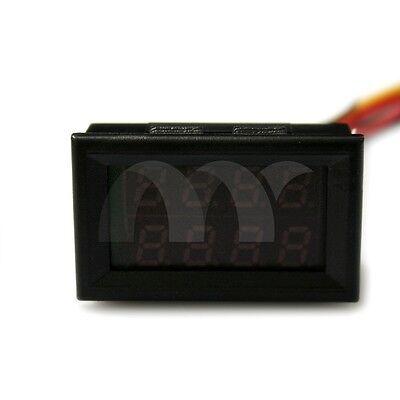 DC 0-100V 0-10A Red Blue Dual LED Digital Voltmeter Ammeter Voltage