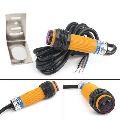 Adjustable Infrared Proximity Switch Photoelectric Detect Sensor Npn No 12v 24v