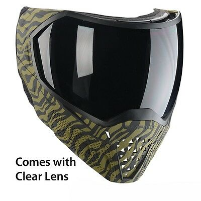 - Empire EVS Thermal Paintball Mask Goggles - Clear Lens - LE Olive Tiger Stripe