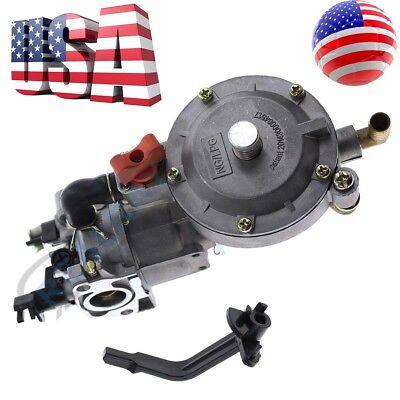 Carburetor for Honda Dual Fuel 170F GX200 LPG Conversion Kit Generator Propane