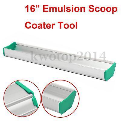 16 Emulsion Scoop Coater Silk Screen Printing Press Aluminum Coating Tool Diy