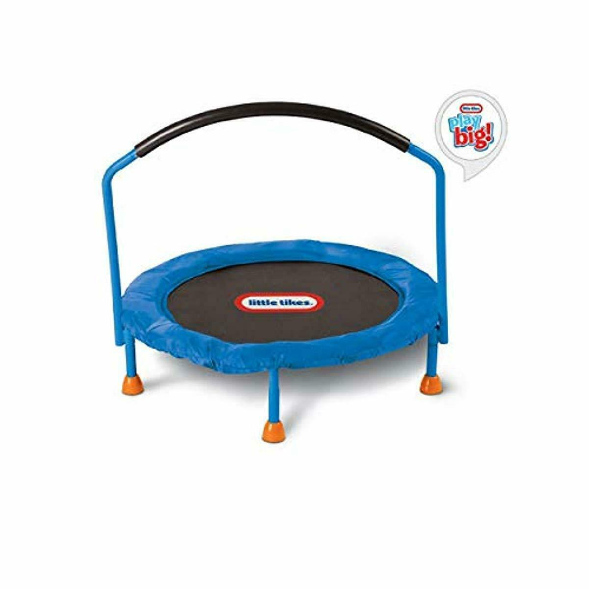 Mini Trampoline Fun Toddlers Trampoline Small Kid Bouncer In