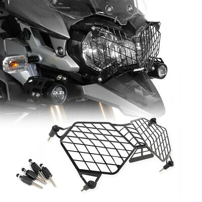 HEADLIGHT GUARD PROTECTOR GRILL FOR TRIUMPH TIGER 800 XCXCX EXPLORER