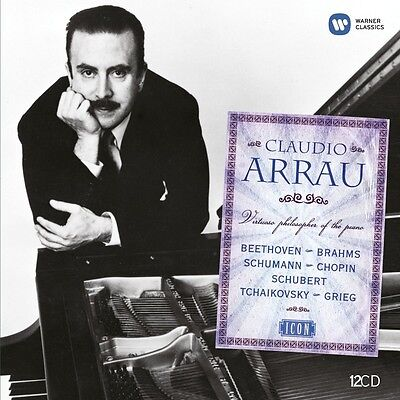 Claudio Arrau - Icon: Claudio Arrau 12 Cd Klassik Klavier Neu Chopinschubert+