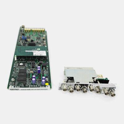 Frame-sync (Snell IQSYN21 HD-SDI Frame Sync with Audio Embedder)