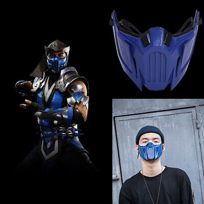 Mortal Kombat MK11 Sub-Zero Cosplay Mask Costume Prop Game Replica Halloween - Sub Zero Mortal Kombat Halloween Costume