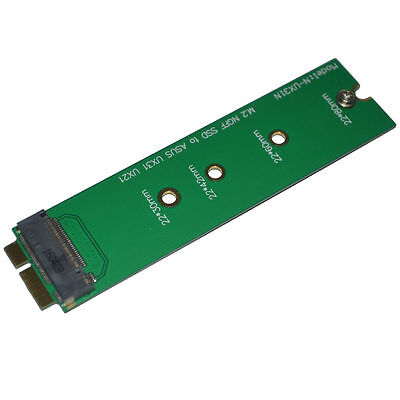 NEW M.2 NGFF SSD to 18 Pin Blade Adapter for Asus UX31 UX21 Zenbook