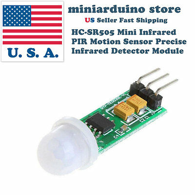 Hc-sr505 Mini Infrared Pir Motion Body Sensor Precise Infrared Detector Module