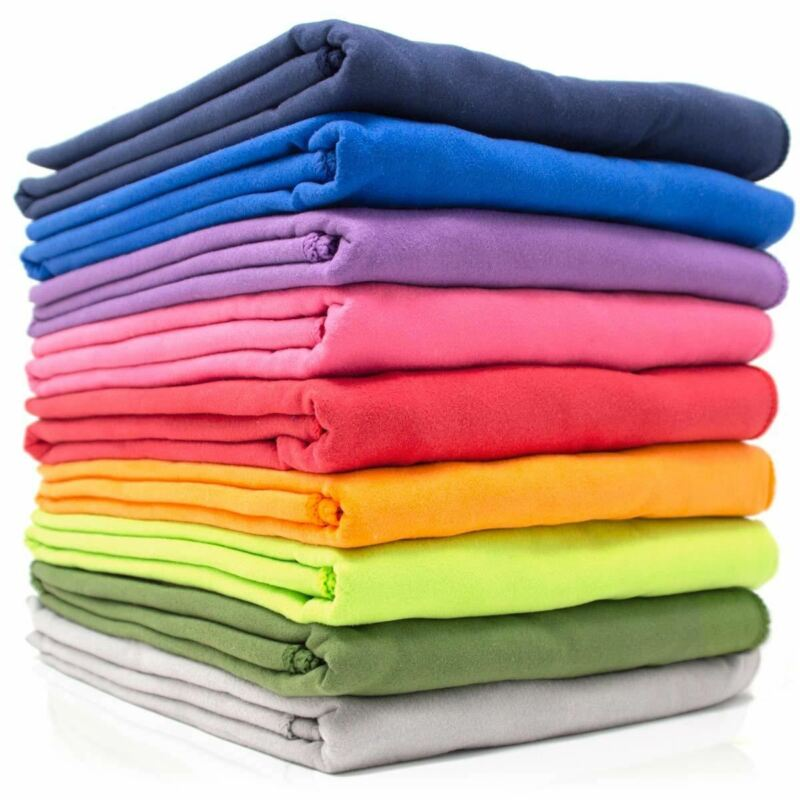 9HORN Microfiber XXL Bath Towel with Bag Quick Dry & Lightweight for Travel Camp
